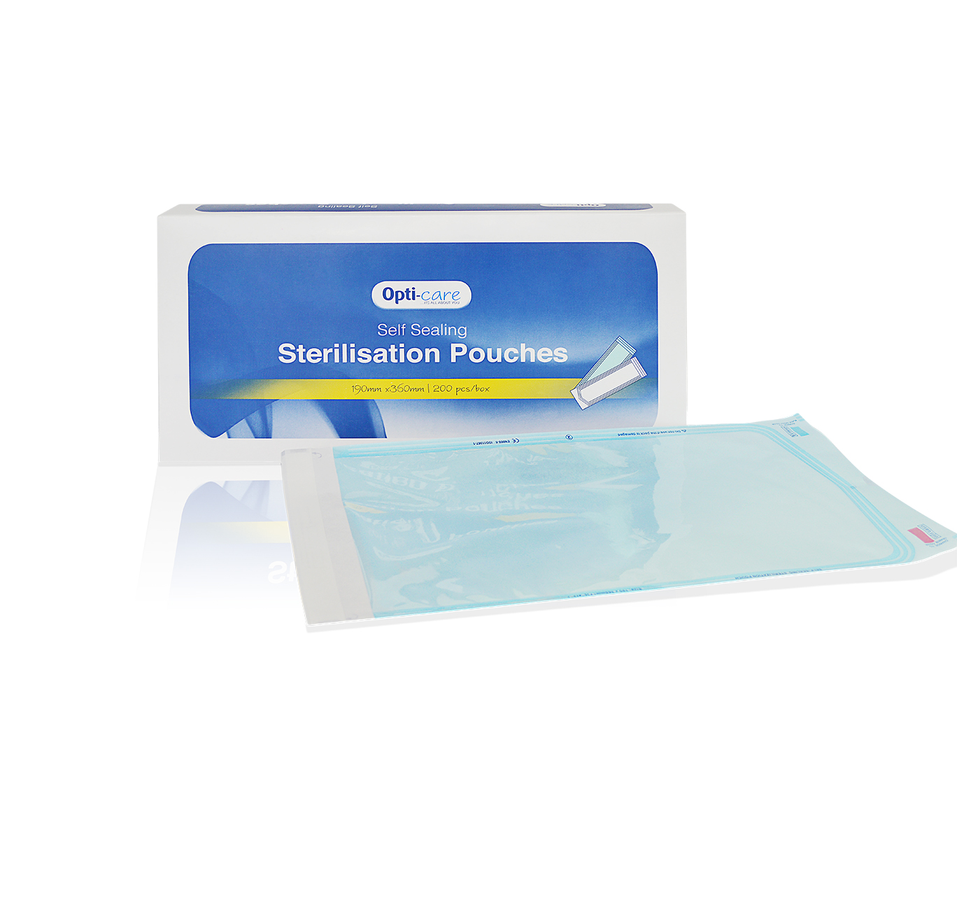 Self-Sealing Sterilisation Pouch