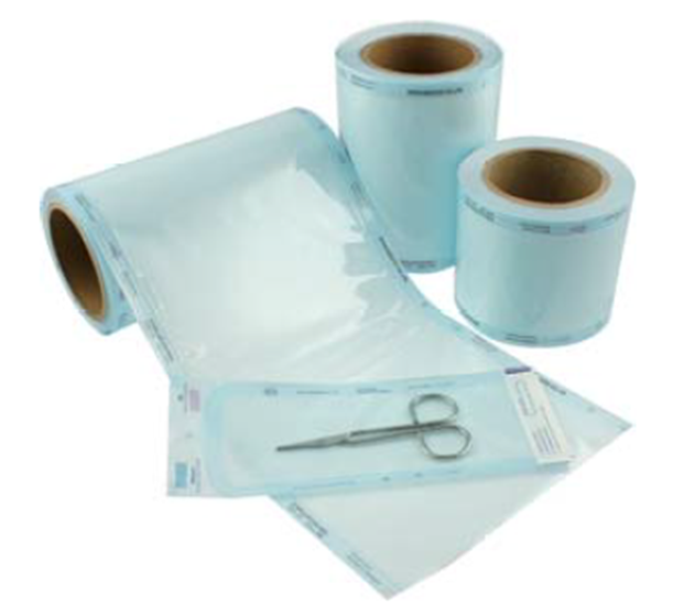 Opti-care Heat Seal Sterilisation Roll – 100 x 200 mm-0