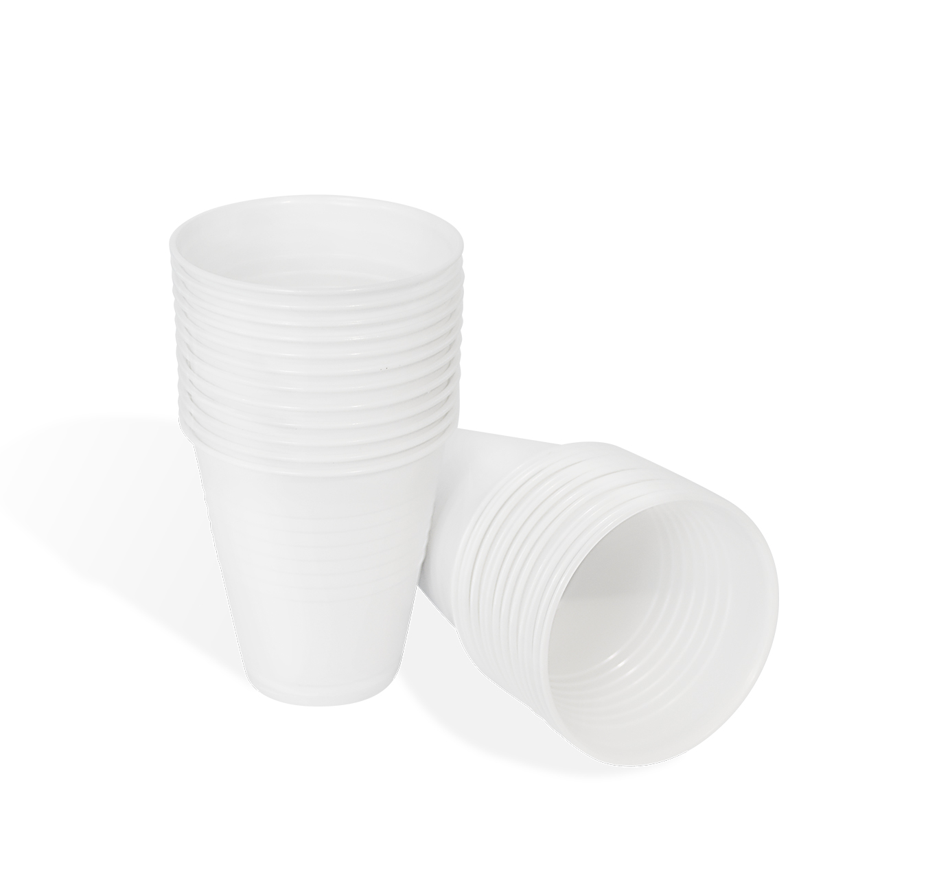 White Plastic Cups-0
