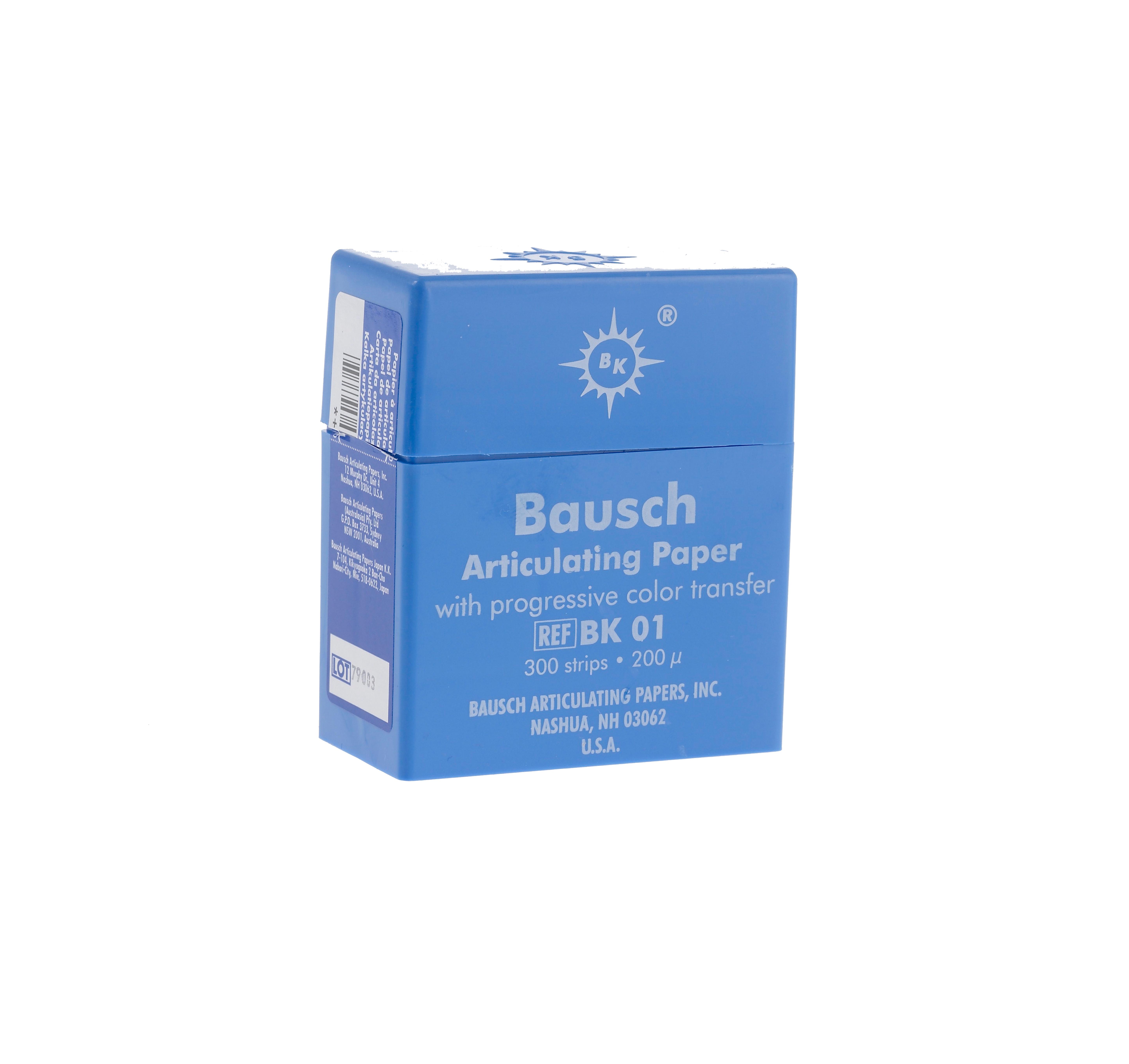 Bausch 200u Articulating Paper-0