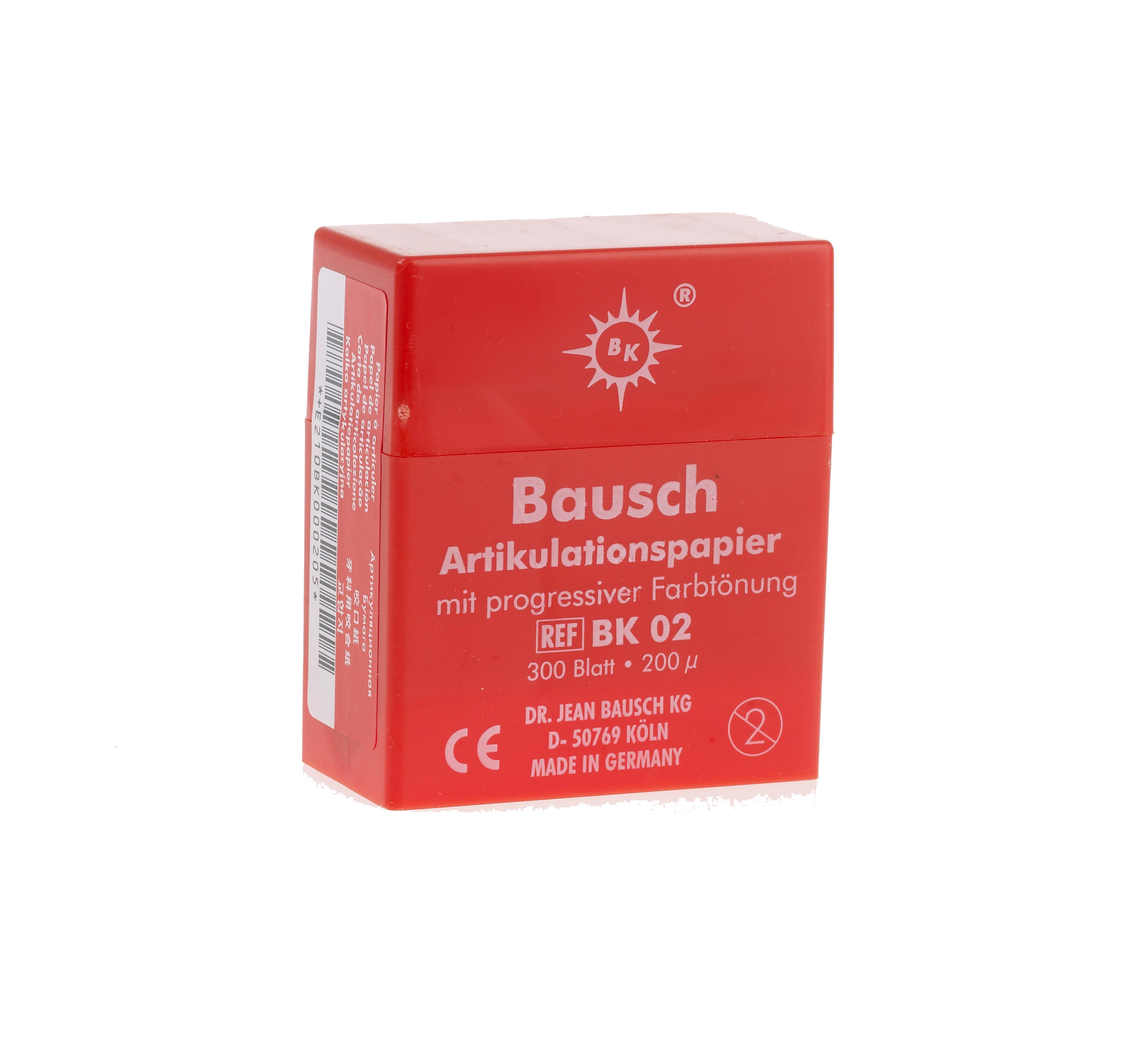 Bausch 200u Articulating Paper -0